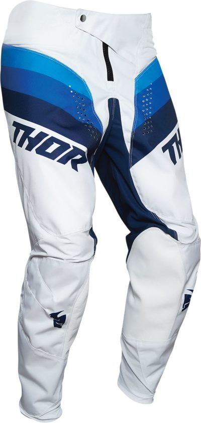 THOR PANTS HOSE YOUTH KIDS PULSE RACER WEISS/NAVY