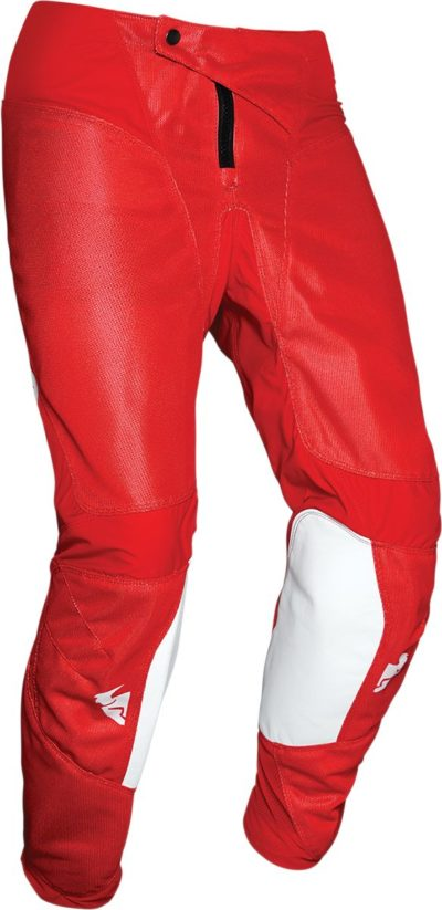 THOR PANTS HOSE YOUTH KIDS PULSE AIR RADIATE WEISS/ROT