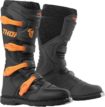 THOR STIEFEL BOOTS BLITZ XP S9 OFFROAD MOTOCROSS CHARCOAL/ORANGE