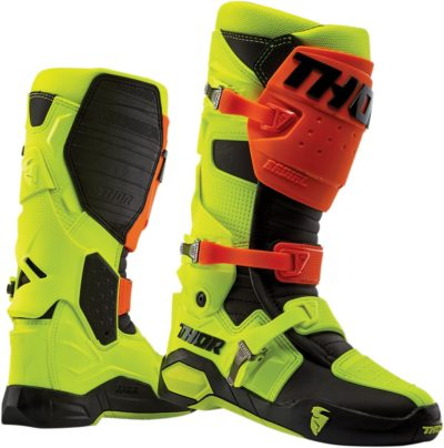 THOR STIEFEL BOOTS RADIAL MOTOCROSS FLOR/YELLOW