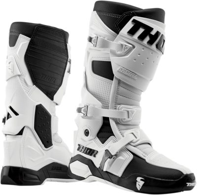 THOR STIEFEL BOOTS RADIAL MOTOCROSS WEISS