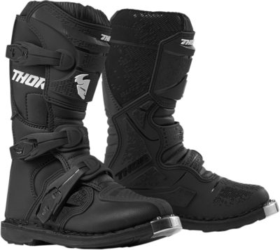 THOR STIEFEL BOOTS BLITZ XP S9Y OFFROAD MOTOCROSS YOUTH KINDER SCHWARZ