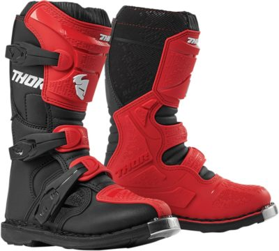 THOR STIEFEL BOOTS BLITZ XP S9Y OFFROAD MOTOCROSS YOUTH KINDER ROT/SCHWARZ