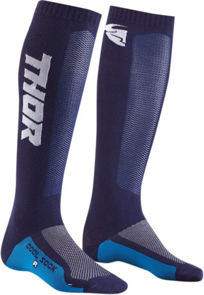 THOR MX COOL S9Y SOCKEN YOUTH KIDS NAVY/WEISS