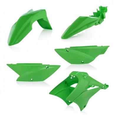 Acerbis Plastiksatz Kawasaki KLX 110 10-21 Plastikkit Verkleidung – grün