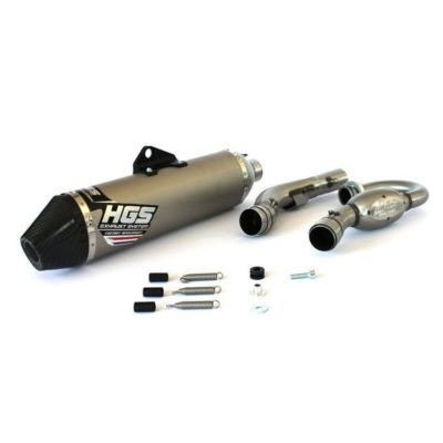 HGS 4 Takt Auspuffanlage Exhaust System Yamaha YZF 450 18-21