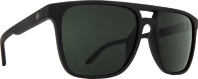 SPY OPTIC Sonnenbrille Czar soft matte black-happy gray gree