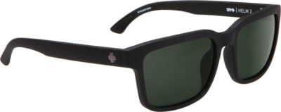 SPY OPTIC Sonnenbrille Helm 2 matte black happy gray green