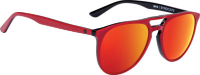SPY OPTIC Sonnenbrille Syndicate red black happy gray green