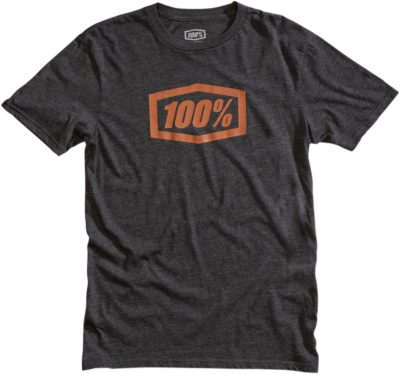 100% TEE ESSENTIAL T-SHIRT CHARCOAL/HEATHER