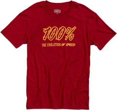 100% TEE SPEEDCO T-SHIRT BRICK