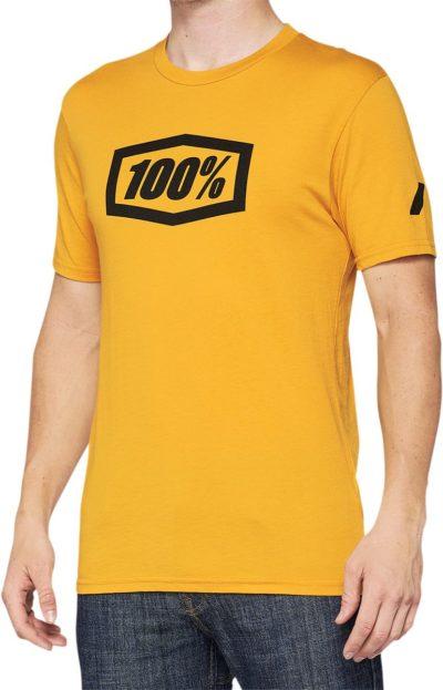 100% TEE ESSENTIAL T-SHIRT GOLDENROD
