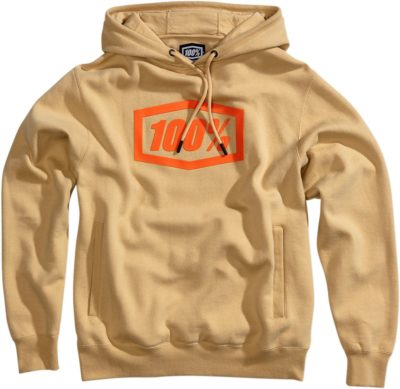 100% HOODY PULLOVER SYNDICATE TAN