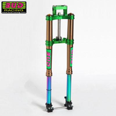 BUD Racing Fork Kit Gabel und Gabelbücke Kawasaki KX 65 01-22
