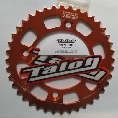 TALON KETTENRAD CHAINWHEEL 40 ZÄHNE ALU ORANGE KTM SX 50 14-21