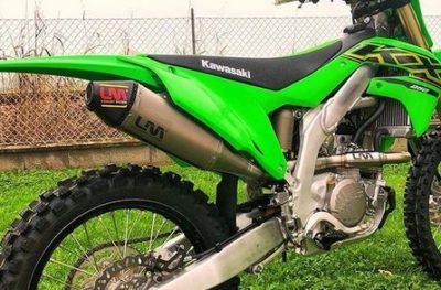 LM Auspuffanlage Kawasaki KX 250 21-