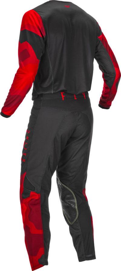 Fly Racing Hose Kinetic K221 Kids rot-schwarz