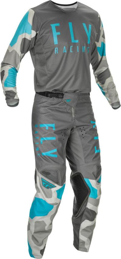 Fly Racing Hose Kinetic K221 grau-blau