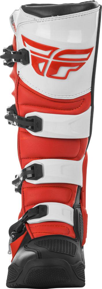 Fly Racing Stiefel FR5 rot-schwarz-weiß