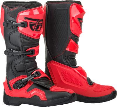 Fly Racing Stiefel Maverik II rot-schwarz