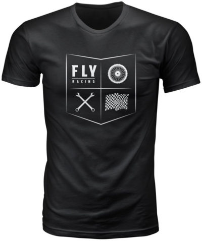 Fly Racing T-Shirt All Things Moto schwarz