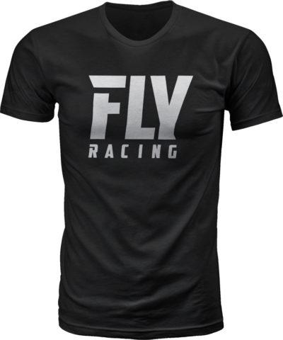 Fly Racing T-Shirt Fly Logo schwarz
