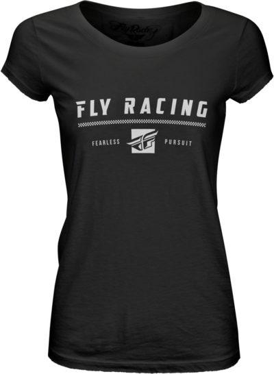 Fly Racing T-Shirt Pursuit Lady schwarz