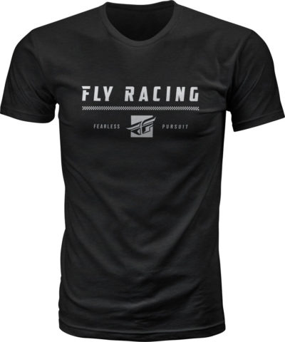 Fly Racing T-Shirt Pursuit schwarz