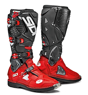 SIDI CROSSFIRE 3 STIEFEL BOOTS Red-Red-Black