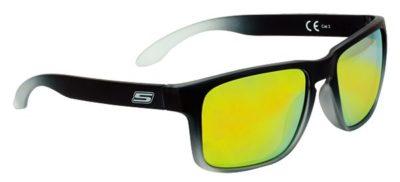 S-LINE Sonnenbrille Sun Glasses schwarz / 100% UV Pro verspiegelt