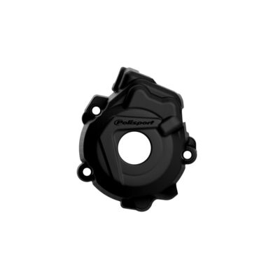 POLISPORT Zündungsdeckel Ignition Cover Protektor KTM SXF 250/350 13-15 BLACK