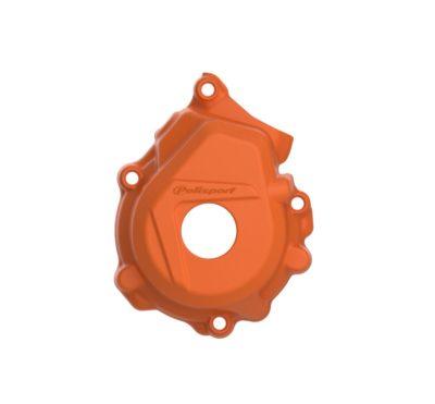 POLISPORT Zündungsdeckel Ignition Cover Protektor KTM SXF 250/350 16-20 ORANGE