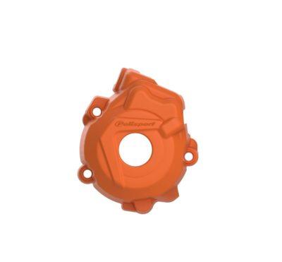 POLISPORT Zündungsdeckel Ignition Cover Protektor KTM SXF 250/350 13-15 ORANGE