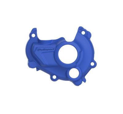 POLISPORT Zündungsdeckel Ignition Cover Protektor YAMAHA YZ 250F 14-16 BLUE