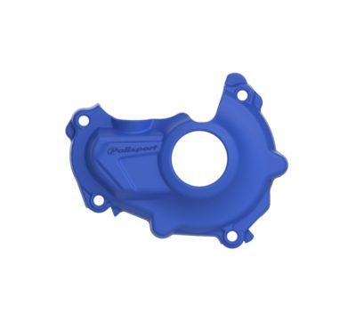 POLISPORT Zündungsdeckel Ignition Cover Protektor YAMAHA YZ 450F 14-15 BLUE