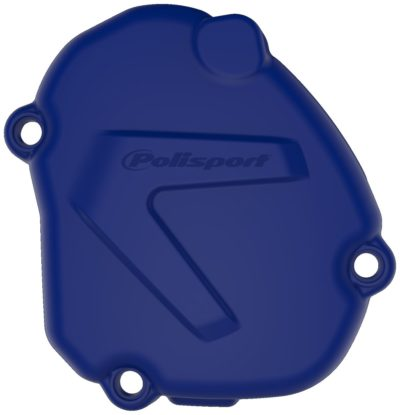 POLISPORT Zündungsdeckel Ignition Cover Protektor YAMAHA YZ 125 05-20 BLUE