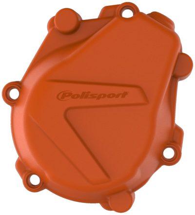 POLISPORT Zündungsdeckel Ignition Cover Protektor KTM SXF 450 18-19 ORANGE