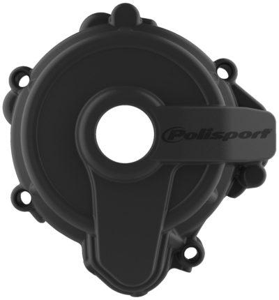 POLISPORT Zündungsdeckel Ignition Cover Protektor SHERCO SE 250 14- BLACK