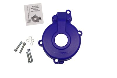 POLISPORT Zündungsdeckel Ignition Cover Protektor SHERCO SEF 250 14- BLUE