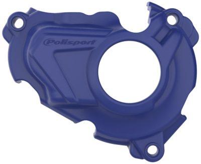 POLISPORT Zündungsdeckel Ignition Cover Protektor YAMAHA YZF 250 19- BLUE