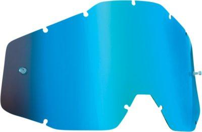 FMF VISION LENS YOUTH ANTI FOG BLUE MIRROR