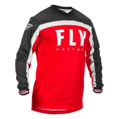FLY Jersey Fahrerhemd F-16 Rot Youth Kids YXL
