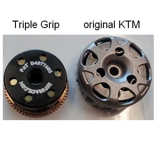 Triple Grip Clutch Rennkupplung Kupplungsscheiben KTM SX 50 09-22 HUSQVARNA TC 50 18-