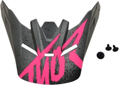 THOR VISOR KIT SECTOR YOUTH KIDS HYPE CHARCOAL/PINK