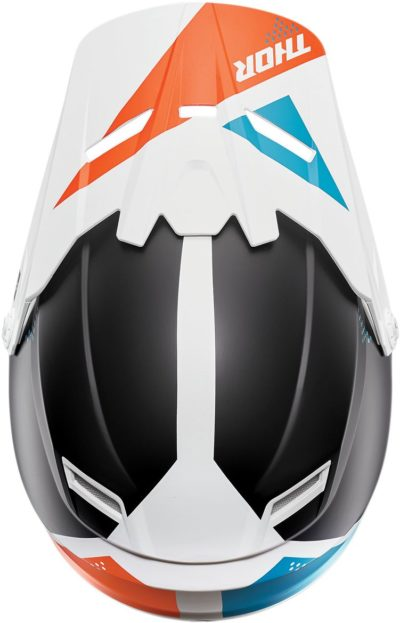 THOR VISOR KIT YOUTH KIDS SECTOR BLADE WEISS/NAVY
