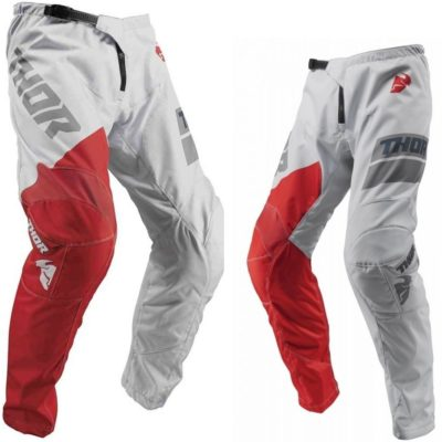 Thor Hose Pants Sector Shear S9Y Light Gray Youth Kids Gr. 22