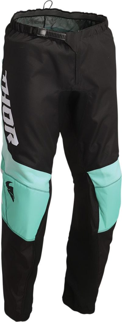 THOR PANTS HOSE SECTOR YOUTH CHEV SCHWARZ/MINT