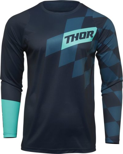 THOR JERSEY SECTOR YOUTH BIRD MIDNIGHT/MINT