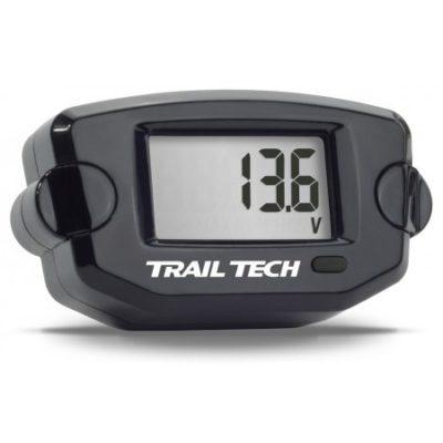 Trail Tech Batteriespannung Schwarz