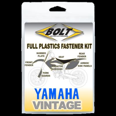 BOLT Schraubenkit für Plastikteile Yamaha YZ 125/250/490 87-90